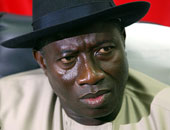 الرئيس النيجيرى جودلاك جوناثان