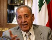 نبيه برى رئيس مجلس النواب اللبنانى