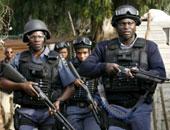 عناصر الشرطة الأفريقية _ أرشيفية