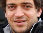 مصطفى شمامة لاعب الشرطة