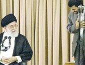 الرئيس الإيرانى السابق والمرشد الأعلى على خامنئى