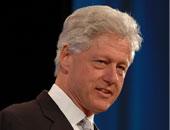 بيل كلينتون الرئيس الأمريكى الأسبق
