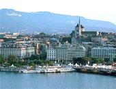 مدينة جنيف بسويسرا