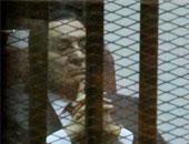 الرئيس الأسبق حسنى مبارك خلال محاكمته