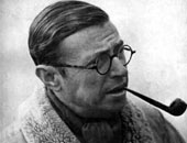 الفيلسوف الفرنسى سارتر