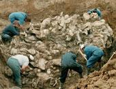 """مقابر جماعية فى البوسنة """"أرشيفية"""""""