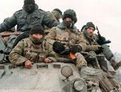 القوات الروسية بالشيشان