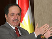 رئيس إقليم كردستان العراق مسعود البارزانى