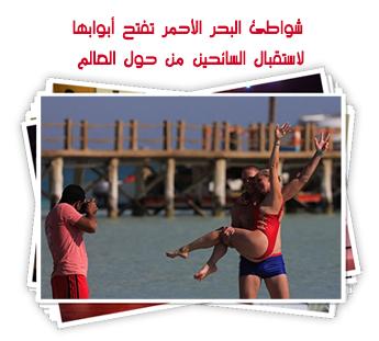 شواطئ البحر الأحمر تفتح أبوابها لاستقبال السائحين من حول العالم..ألبوم صور
