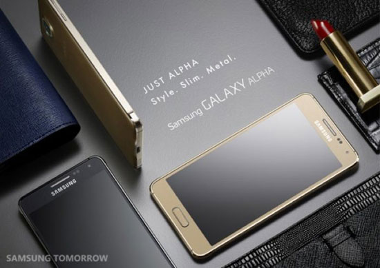 �������� ������ ������� �������� �� ���� ������� ����Samsung Galaxy Alpha