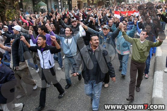 Demonstrations on anger in Egypt pictures  1