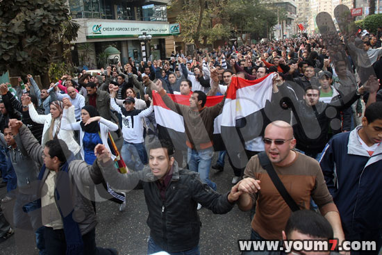 Demonstrations on anger in Egypt pictures  18