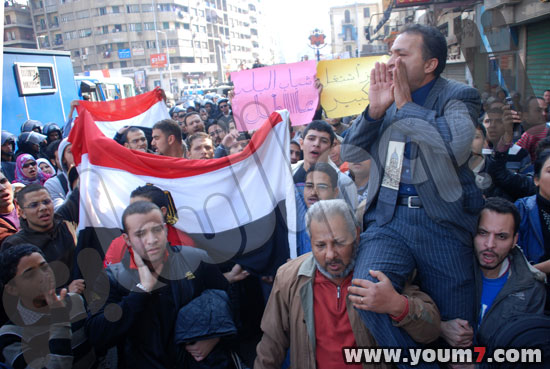 Demonstrations on anger in Egypt pictures  34