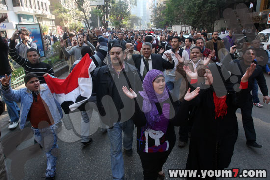 Demonstrations on anger in Egypt pictures  5