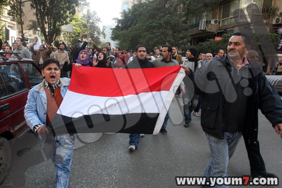 Demonstrations on anger in Egypt pictures  6