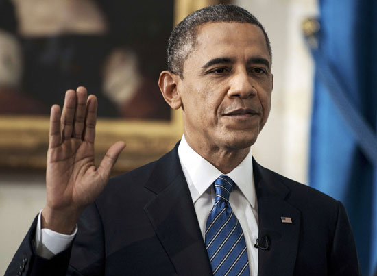 Pictures Obama sworn President United States America second time 2013 1.jpg
