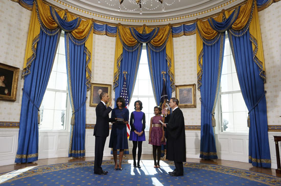 Pictures Obama sworn President United States America second time 2013 10.jpg