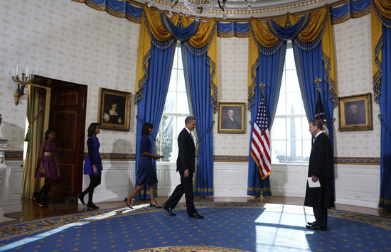 Pictures Obama sworn President United States America second time 2013 11.jpg