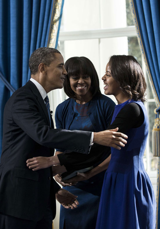 Pictures Obama sworn President United States America second time 2013 12.jpg