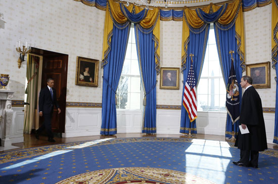 Pictures Obama sworn President United States America second time 2013 13.jpg
