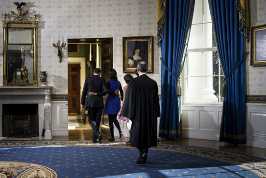 Pictures Obama sworn President United States America second time 2013 14.jpg