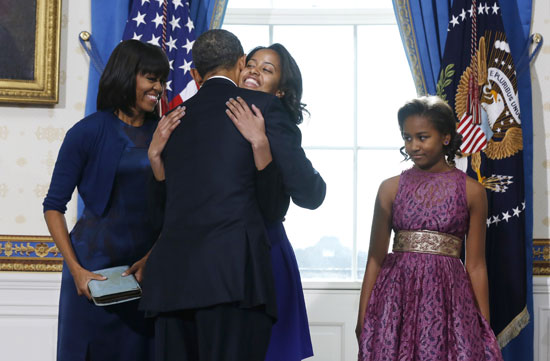 Pictures Obama sworn President United States America second time 2013 15.jpg