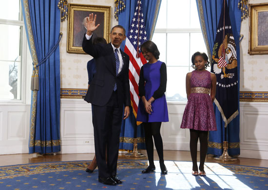 Pictures Obama sworn President United States America second time 2013 17.jpg