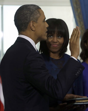 Pictures Obama sworn President United States America second time 2013 18.jpg