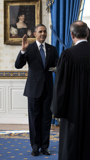 Pictures Obama sworn President United States America second time 2013 19.jpg