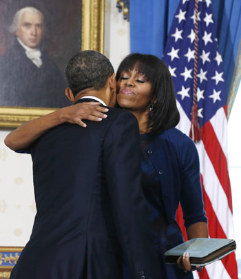 Pictures Obama sworn President United States America second time 2013 21.jpg