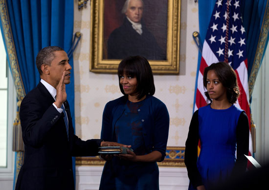 Pictures Obama sworn President United States America second time 2013 3.jpg