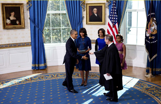 Pictures Obama sworn President United States America second time 2013 4.jpg