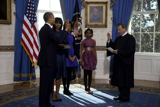 Pictures Obama sworn President United States America second time 2013 5.jpg