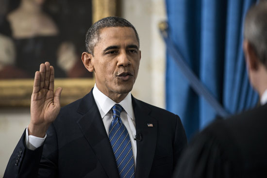 Pictures Obama sworn President United States America second time 2013 7.jpg