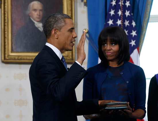 Pictures Obama sworn President United States America second time 2013 9.jpg