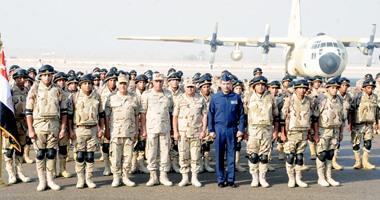 """الجيشان المصرى والإماراتى ينفذان التدريب المشترك """"سهام الحق"""""""