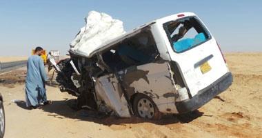 أسماء المصابين فى حادث تصادم طريق سوهاج - البحر الأحمر