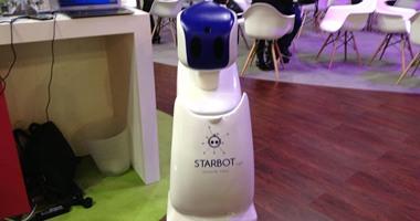 ستاروير تطلق أول روبوت مصرى بمعرض جيتكس للتقنية