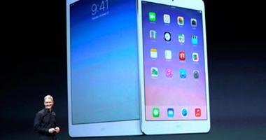 حصيلة مؤتمر  أبل  اليوم..  iPad Air 2  أنحف جهاز فى العالم.. نظام تشغيل ios8.1.. خاصية الدفع الإلكترونى.. وتخفيض سعر الأجهزة القديمة