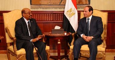السيسى يرحب بزيارة البشير: النيل يوحد شعبى مصر والسودان