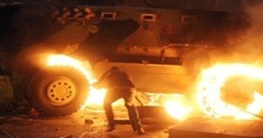 مصدر عسكرى: عبوة ناسفة سبب انفجار مدرعة بجوار مطار العريش وإصابة 6