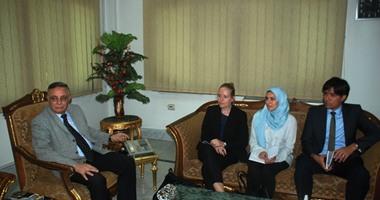 محافظ سوهاج يلتقى ممثلى مشروع جودة التعليم الدولى