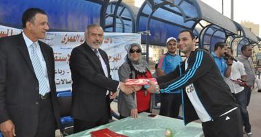 مهرجان رياضى لاستقبال طلاب الجامعة الجدد بجامعة كفر الشيخ