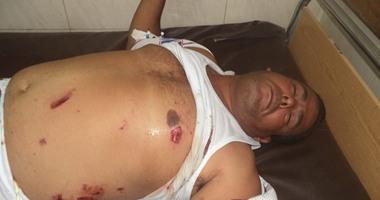 ننشر صور مصابى حادث انفجار عبوة ناسفة بديوان محافظة الغربية
