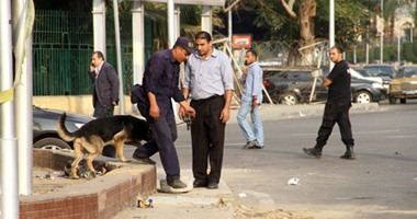 """معاينة النيابة: قنبلة جامعة القاهرة بدائية الصنع وزرعت قرب """"كشك غاز"""""""