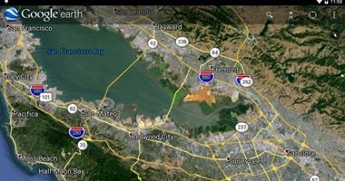 """تحديث لـ""""Google Earth"""" يعرض المدن بشكل ثلاثى الأبعاد"""