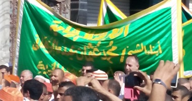 انطلاق موكب الطريقة البرهانية للاحتفال بمولد إبراهيم الدسوقى بكفر الشيخ