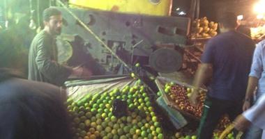 بالفيديو والصور .. أول لقطات لخروج قطار (السويس_عين شمس) عن القضبان