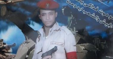"""شهيد سوهاج بحادث العريش معلقًا على إحدى صوره: """"لو مت فداكى يا مصر"""""""
