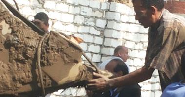 النيابة: برلمانيون سابقون مولوا أعمال التنقيب عن آثار مقبرة ميت رهينة